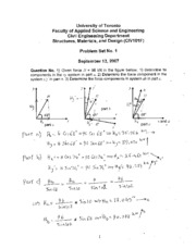 Solutions to problem set no 1