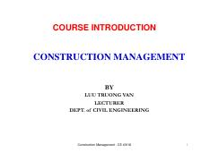 Class 1 - COURSE INTRODUCTION_CE 401IU 23-9-2016