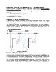 Methods of Electrical Wiring Systems w.docx