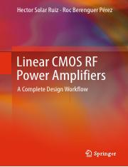 eetop.cn_Linear CMOS RF Power Amplifiers A Complete Design Workflow.pdf
