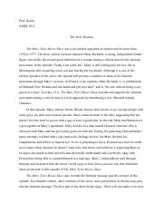 AMST 2011 The Mary Tyler Moore Show Essay