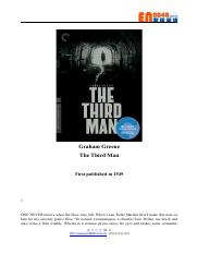 The Third Man by Graham Green