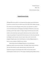 Bilingual Education Essay.docx