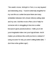 Essay on Writing Style
