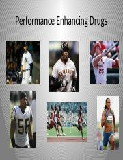 Sp16 Chapter 25 Performance Enhancing Drugs, Creatine, and Caffeine for posting.pptx