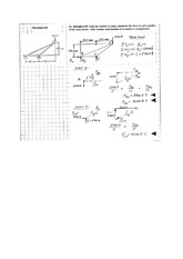 STATICS truss and frame problems