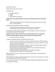 CS360 Chapter 1 Notes.docx