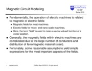 03_Magnetic Circuits