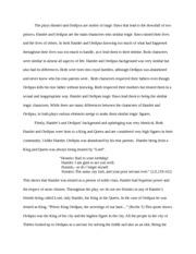 Hamlet's tragic flaws essay