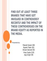 Find out at least three brands that have.ppt