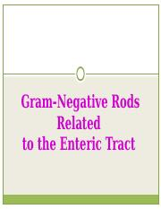 16. Gram-Negative Rods Related