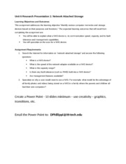 unit 6 research paper 1 nas Bmc health services research, 15(1) unit 6 final paper 1- organizational development executive summary graded unit 1 brief unit 3 brief.