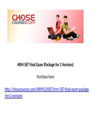 HRM 587 Final Exam (Package for 2 Versions).pptx