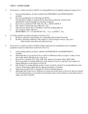 ISDS 2001 - TEST 2 - Study Guide - revised 022720 (2).doc