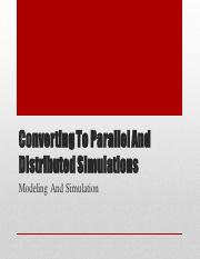 3 Converting To Parallel And Distributed Simulation.pdf