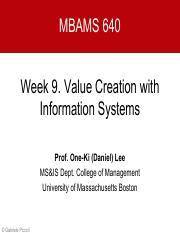 MBA - University of Massachusetts - Boston - Course Hero