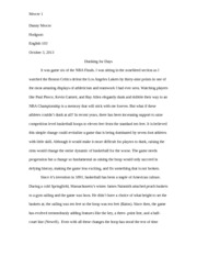eng outline of music piracy essay mercer danny mercer  5 pages eng 103 essay 2