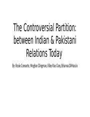 The Controversial Partition.pptx