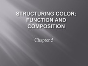 Lecture 5 - Color Function & Compostion-1