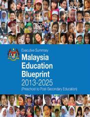 Preliminary blueprint english malaysia education blueprint 2013 preliminary blueprint english malaysia education blueprint 2013 2025 foreword 1 malaysia education blueprint chapter 1 context and innova 6 education malvernweather Images