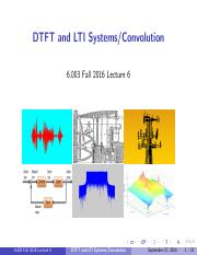 LFourier Transfroms and DT Signals