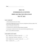 BMGT310_practice final exam_with solution