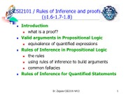 04 Inference Rules-2013