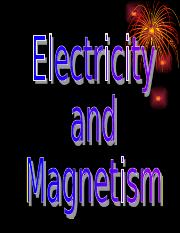 ElectricityMagnetism.ppt