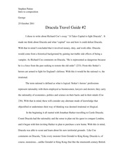 Dracula Travel Guide 2 better