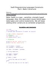 Swift Programming Language_Constructs_PartI.docx