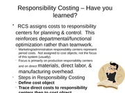 Responsibility Costing wrap up (1)