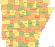 arkansas-county-map
