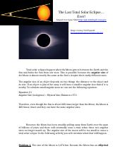 Project2_Module4_The Last Total Solar Eclipse