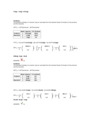 10.5_Enthalpy Rxn from Enthalpy Formation