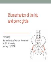 Biomechanics Hip and pelvic joint..ppt