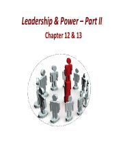 13. MGMT2110_Leadership & Power_Part 2.pdf
