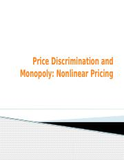 6-First Degree Price Discrimination