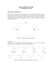 Notes on Circuits Prepared by Dr. Srivastava