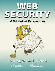 Web Security A WhiteHat Perspective - Hanqing Wu and Liz Zhao - 2015