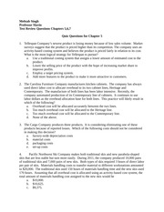 Midterm Review Questions for Chapters 5-7