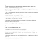 env law essay National waste law print env lr 40 (case c-418/97 if you are the original writer of this essay and no longer wish to have the essay published on.