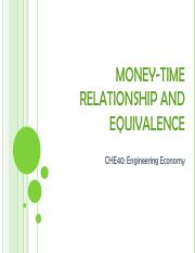 04 - Money-Time Relationship and Equivalence CHE40