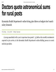 Doctors quote astronomical sums for rural posts.pdf