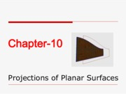 Projections of Planar Surfaces