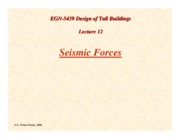 TB-Lecture12-Seismic-Forces-on-Buildings