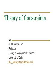 8 Theory of Constraints.ppt