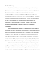 psy reflection paper hannah bauss psy reflection paper  4 pages diversity essay