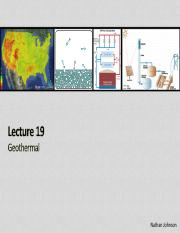 Lecture 19 - Geothermal.pdf