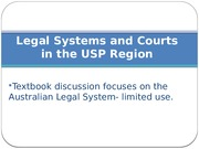 Lecture on Legal Systems 2013 (lecture 1)