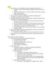 Notes_History of Child Development